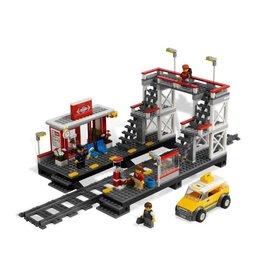 LEGO 7937 Spoorwegstation - loopbrug + gele taxi  CITY