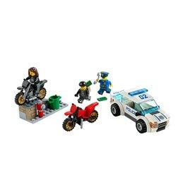 LEGO 60042 Boevenjacht met 2 crossmotors CITY