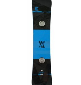 VOLKL Snowboard + Bindingen Hybrid Lengte 1.56m Blauw/Zwart Gebruikt