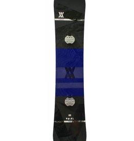 VOLKL Snowboard + Bindingen Hybrid Lengte 1.60m Paars/Zwart Gebruikt
