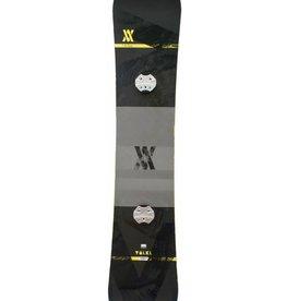 VOLKL Snowboard + Bindingen Hybrid Lengte 1.63m Geel/Zwart Gebruikt