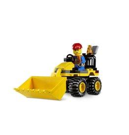 LEGO 7246 Graafmachine geel CITY