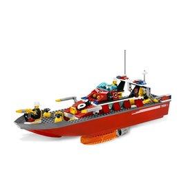 LEGO 7906 Brandweerboot groot CITY