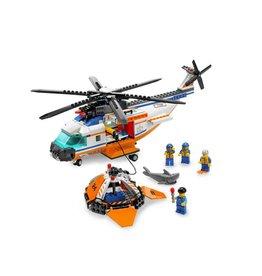 LEGO 7738 Coast Guard Helicopter en reddingsvlot CITY