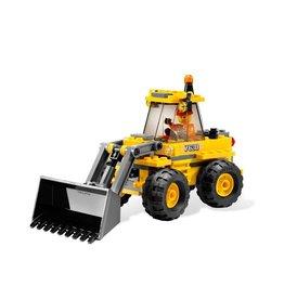 LEGO 7630 Graafmachine geel CITY