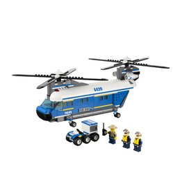 LEGO 4439 Politie Vrachthelicopter XL CITY