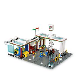 LEGO 7993 Octan bezine station/ wasstraat CITY