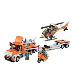 LEGO 7686 Helicopter Transporter CITY