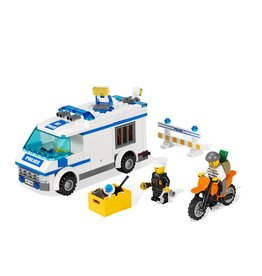 LEGO 7286 Gevangentransport met motor CITY