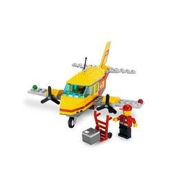 LEGO 7732 Gele Luchtpost vliegtuig CITY