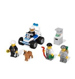 LEGO 7279 Politie quad + geldautomaat + boef CITY