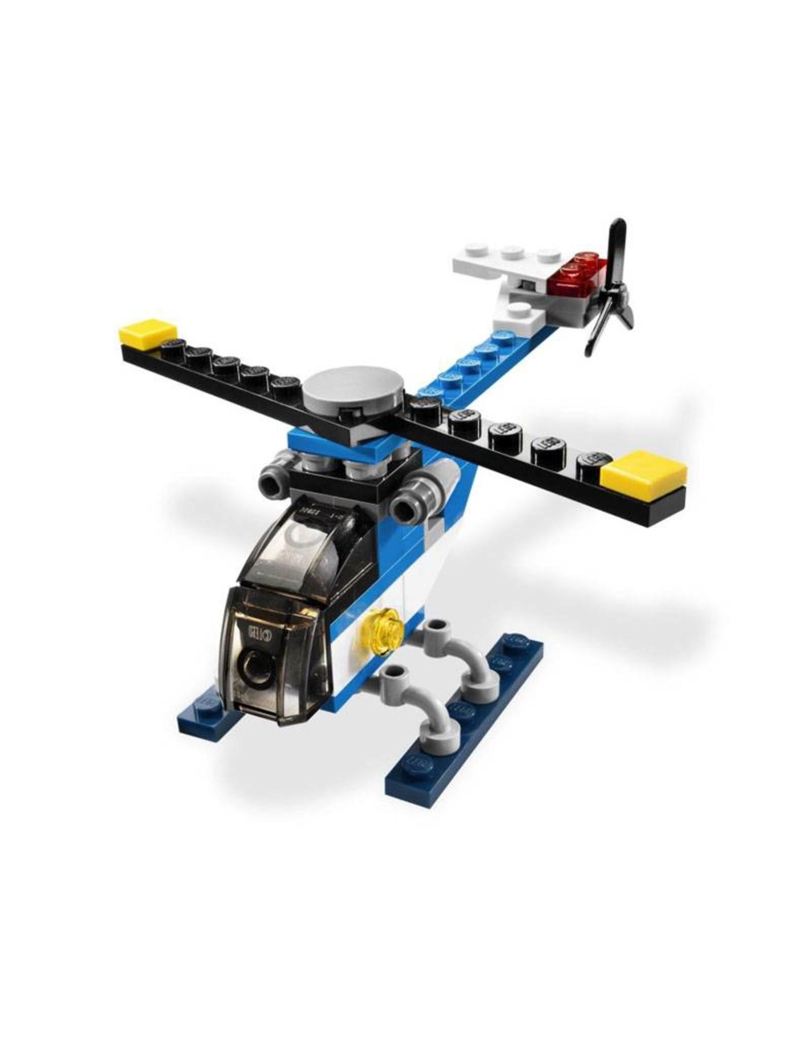 LEGO LEGO 5864 Helicopter blauw  CREATOR