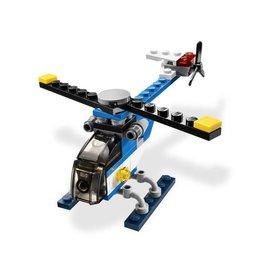 LEGO 5864 Helicopter blauw  CREATOR