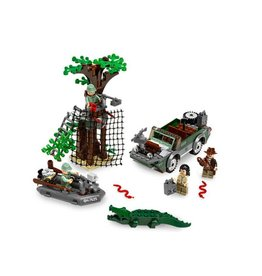 LEGO 7625 Kingdom of the Crystal Skull - River Chase INDIANA JONES