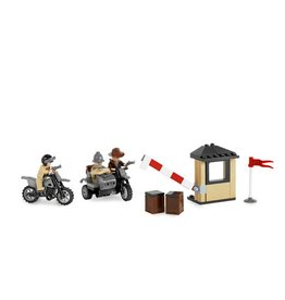 LEGO 7620 Last Crusade - Motorcycle Chase INDIANA JONES
