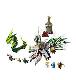 LEGO 9450 Epic Dragon Battle NINJAGO