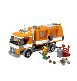 LEGO 7991 Vuilniswagen (oranje) CITY