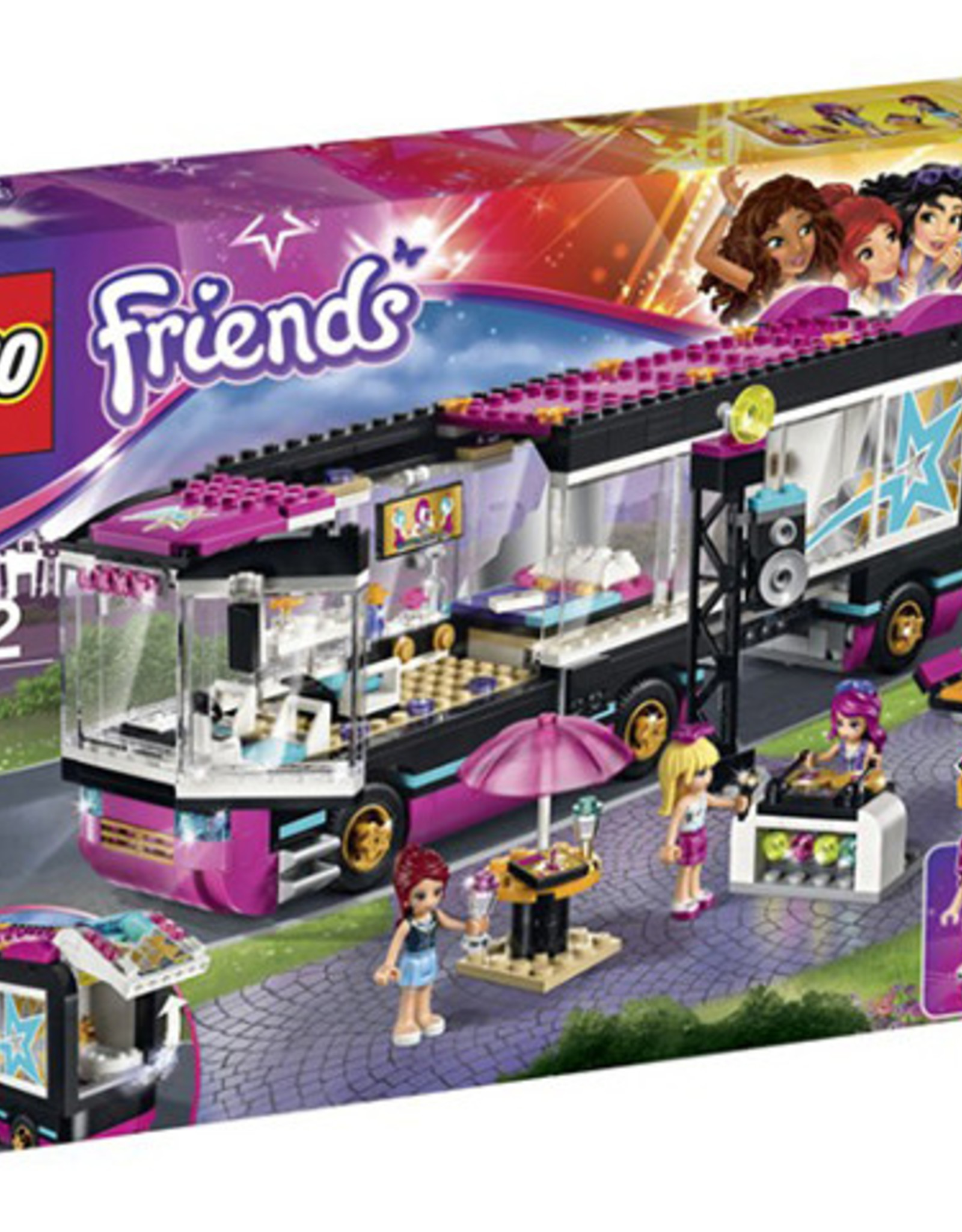 LEGO LEGO 41106 Pop Star Tour Bus FRIENDS