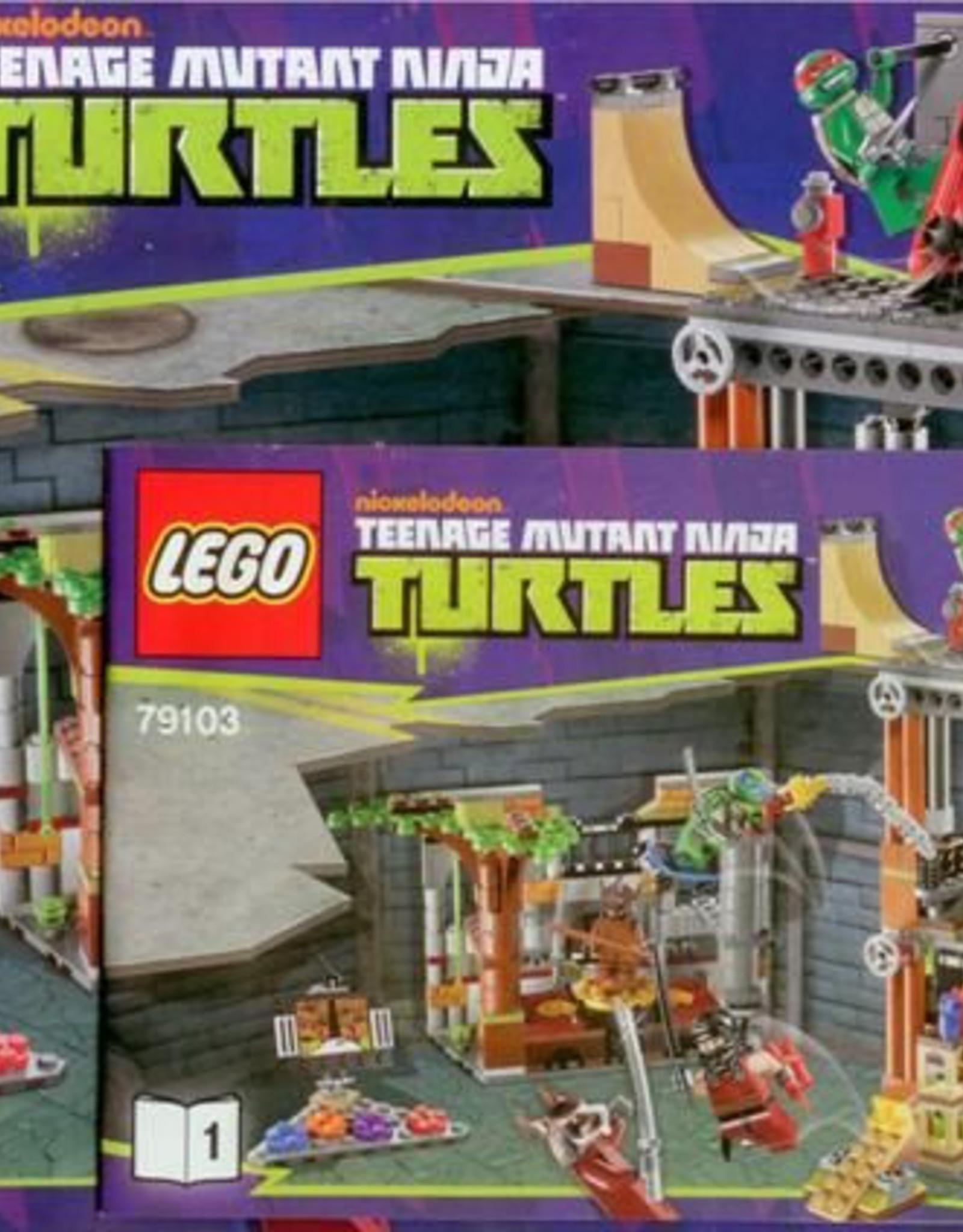 LEGO LEGO 79103 Turtle Lair Attack TURTELS