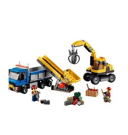 LEGO 60075 Excavator and Truck CITY