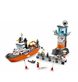 LEGO 7739 Coast Guard Patrol Boat en Tower CITY