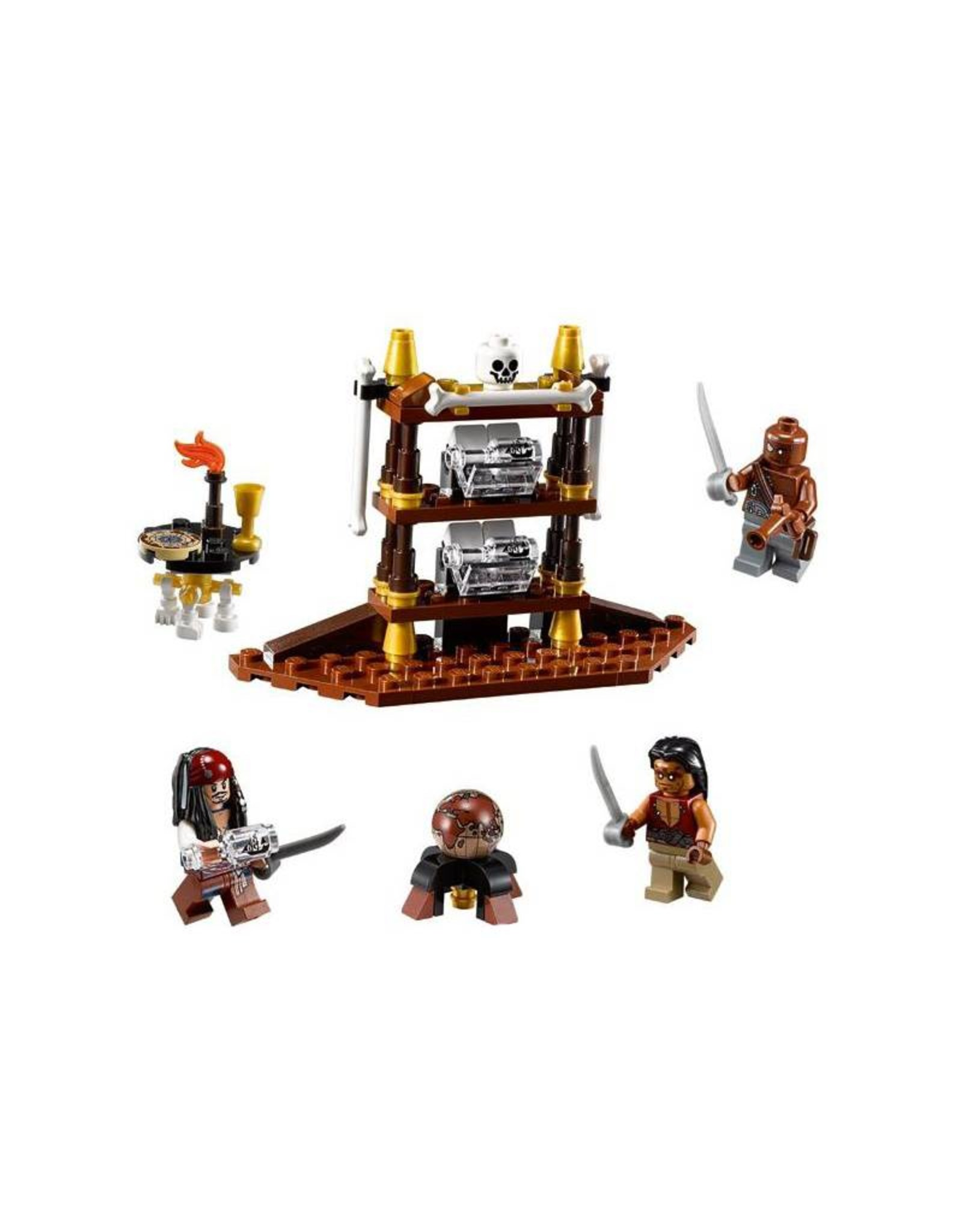 LEGO LEGO 4191 The Captain's Cabin PIRATES OF THE CARIBBEAN