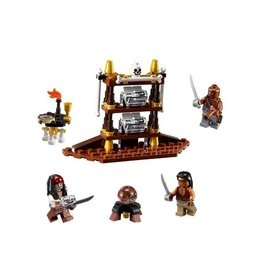 LEGO 4191 The Captain's Cabin PIRATES OF THE CARIBBEAN