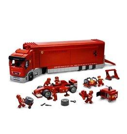 LEGO 8654 Scuderia Ferrari truck RACERS