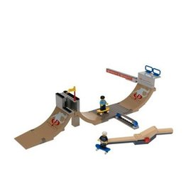 LEGO 3537 Gravity Games halfpipe skatebaan SPORTS