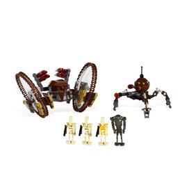 LEGO 7670 Hailfire Droid & Spider Droid STAR WARS