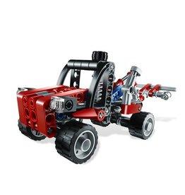 LEGO 8065 Kiepwagen rood/zwart TECHNIC