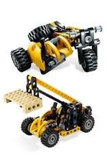 LEGO LEGO 8045 Driewieler (cross) of Heftruk met pallet TECHNIC