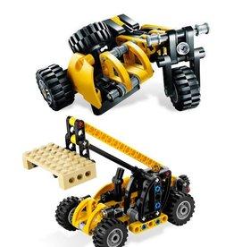 LEGO 8045 Driewieler (cross) of Heftruk met pallet TECHNIC