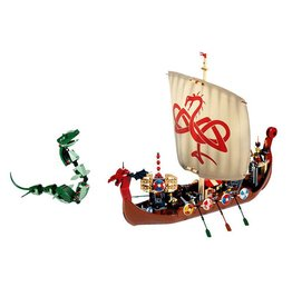LEGO 7018 Viking Ship challenges the Midgard Serpent VIKINGS