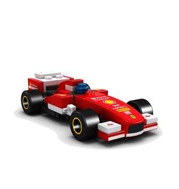 LEGO 40190 Ferrari F138, met boekje,zonder doos,gebruikt