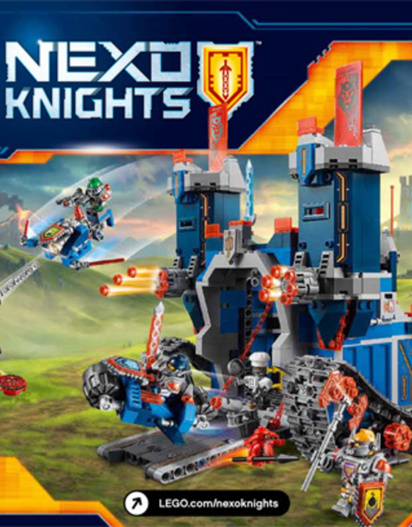LEGO LEGO 70317 The Fortrex NEXO KNIGHTS