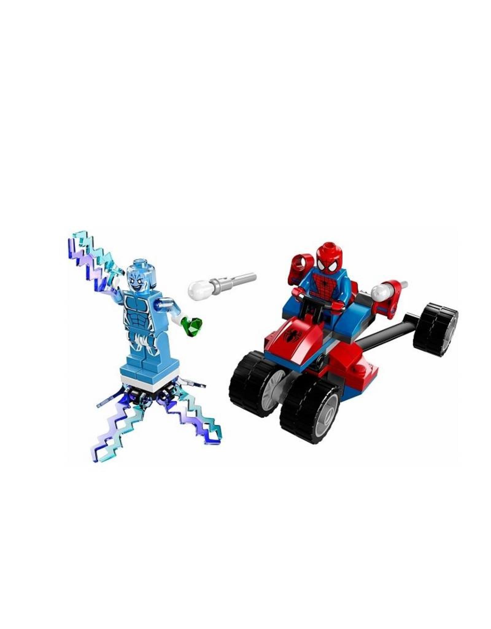 LEGO LEGO 76014 Spider - Trike vs. Electro SUPER HEROES