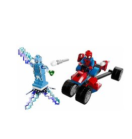 LEGO 76014 Spider - Trike vs. Electro SUPER HEROES