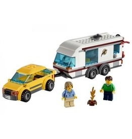 LEGO 4435 Car and Caravan CITY
