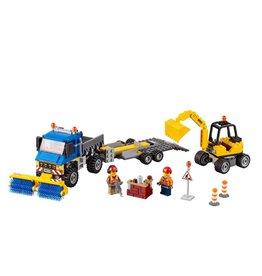 LEGO 60152 Sweeper & Excavator CITY