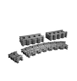 LEGO 7499 8x Recht + 16x Flex CITY