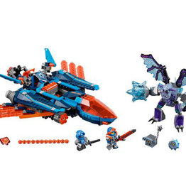 LEGO 70351 Clay's Falcon Fighter Blaster NEXO KNIGHTS