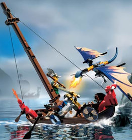 LEGO 7016 Viking Boat against the Wyvern Dragon VIKINGS