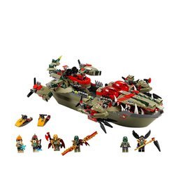 LEGO 70006 Cragger's Command Ship CHIMA
