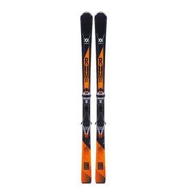 VOLKL Volkl RTM 81 Ski's Zw/Ora Gebruikt
