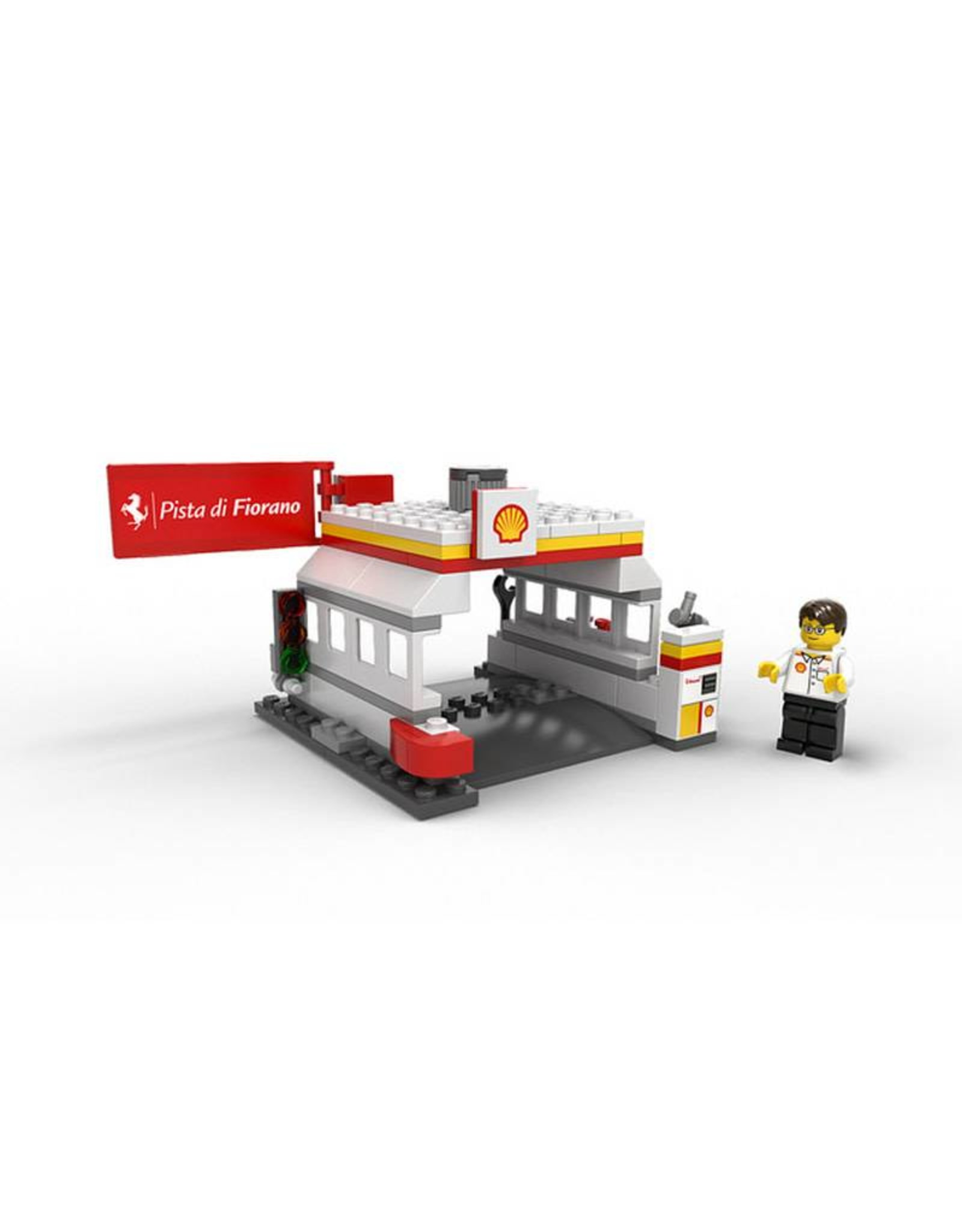 LEGO LEGO 40195 Shell Station V-POWER