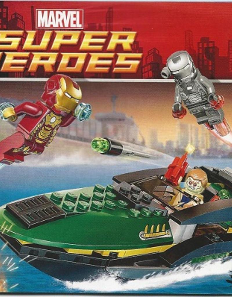 LEGO Super Heroes Iron Man Extremis Sea Port Battle (76006)
