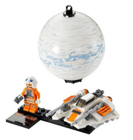 LEGO 75009 Snowspeeder & Planet Hoth STAR WARS