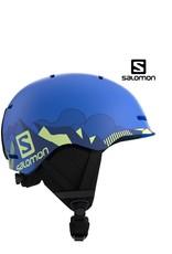 SALOMON Skihelm Salomon GROM Pop Blue Mat M (53/56)