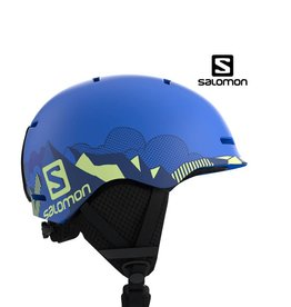 SALOMON Skihelm GROM Pop Blue Mat M (53/56)